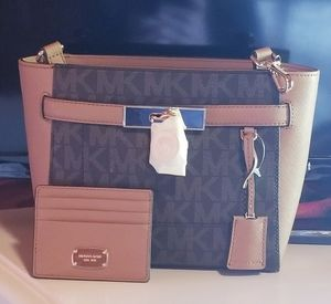 Michael Kors Purse & Wallet Set